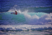 Surf Photos Art Originals - Surfer Girl 1 by Heng Tan