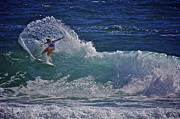 Surf Photos Art Originals - Surfer Girl 2 by Heng Tan