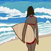 Kate Farrant - Surfer Girl 2