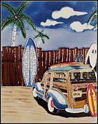 Surf Lifestyle Framed Prints - Surfers Dream Framed Print by Kip Krause