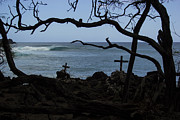 Crashing Photos - Surfers Resting Grounds by Brad Scott