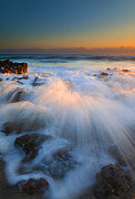 Atlantic Ocean Prints - Surge Print by Mike  Dawson