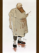 Caricature Framed Prints - Surgeon: Caricature, 1906 Framed Print by Granger