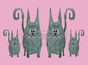 Donovan OMalley - Surprised Cats II