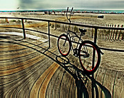 Peaceful Prints - Surreal Boardwalk  Print by Gallery Three
