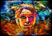 Staley Art Mixed Media Originals - Surreal Dream by Chuck Staley
