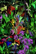 Botanical Fantasy Series - Surreal Garden Fantasy by David Lane