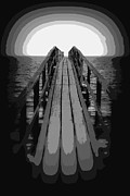 Ramona Johnston - Surreal Sunset Pier