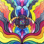 Vibrational Frequency Prints - Surrender Print by Teal Eye  Print Store