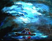 Surviving The Storm Print by Leslie Allen