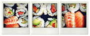 Prepared Prints - Sushi Print by Les Cunliffe