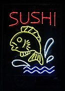 Fish In Art Framed Prints - Sushi Framed Print by Suzanne Gaff