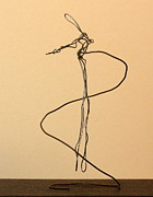 Featured Sculptures - Suspended Man by Mel Drucker