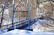 Bridge Digital Art - Suspension Walk by Armand  Roux - Northern Point Photography