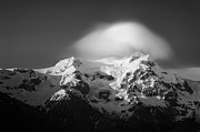 Cloud Art - Svinafell Mountains by David Bowman