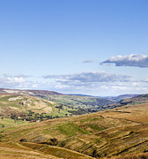 Hilltop Scenes Framed Prints - Swaledale Yorkshire Dales North Yorkshire England UK Framed Print by Jon Boyes