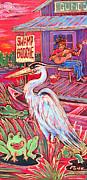 Swamp Boogie Print by Robert Ponzio