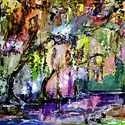 Ginette Fine Art LLC Ginette Callaway - Swamp Magic Abstract