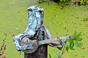 Swampland Metal Prints - Swampland Critter Band 2 Metal Print by Al Powell Photography USA