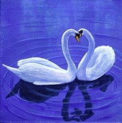 Fran Brooks - Swan Hearts