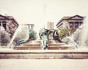 Philadelphia Photo Prints - Swann Memorial Fountain Print by Lisa Russo
