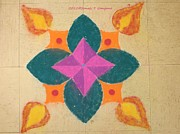 Swarna Jyot Print by Sonali Gangane