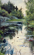 Anders Zorn - Swedish Landscape 1888