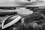 Blackandwhite Photo Posters - Swedish Summer Poster by Kenneth Forland