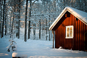 Robert Hellstrom Art - Swedish Winter by Robert Hellstrom