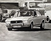 Cop Paintings - Sweeney Mk.1 Granada by Sid Fox