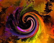 Digital Art - Sweeping color by Claude McCoy