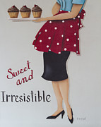 Catherine Framed Prints - Sweet and Irresistible Framed Print by Catherine Holman