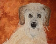 Portraits Of Pets Art - Sweet as Sugar by Annamarie Sidella-Felts