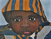 Quebec Paintings - Sweet Baby Julien by Reb Frost