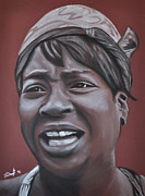 Nobody Drawings Posters - Sweet Brown Poster by Joe Dragt