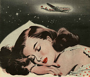 Featured Art - Sweet Dreams In The Air 1950s Uk by The Advertising Archives