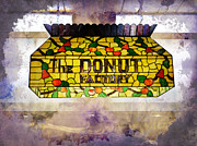 Donut Shop Posters - Sweet Dreams Poster by Judy Hall-Folde