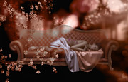 Chaise Digital Art - Sweet Dreams by Shanina Conway