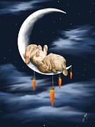 Sweet Dreams Print by Veronica Minozzi