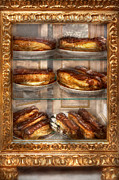 Creamy Prints - Sweet - Eclair - Chocolate Eclairs Print by Mike Savad