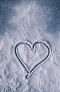 Powder Snow Posters - Sweet Heart Poster by Joana Kruse