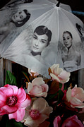Audrey Hepburn Photos - Sweet Magnolias by Ian  Ramsay