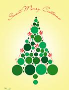 Sweet Merry Christmas Print by Mark Ashkenazi