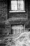 Basement Drawings Prints - Sweet Mystery Of...windows Print by David M Davis