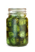 Vinegar Photo Prints - Sweet Pickles Print by Jim Hughes