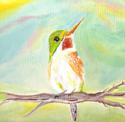 Cathy Turner - Sweet Rainbow Bird
