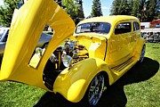 Ford Coupe Prints - Sweet Ride Print by Cheryl Young
