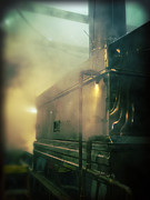Blurry Photo Prints - Sweet Steam Print by Edward Fielding