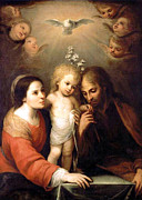 Holy Family Photos - Sweet Touch by Munir Alawi