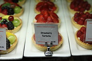Birthdays Framed Prints - Sweet Treats - Strawberry Tartlette - 5D20705 Framed Print by Wingsdomain Art and Photography